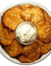 Potato pancakes (Bulviniai blynaiI)